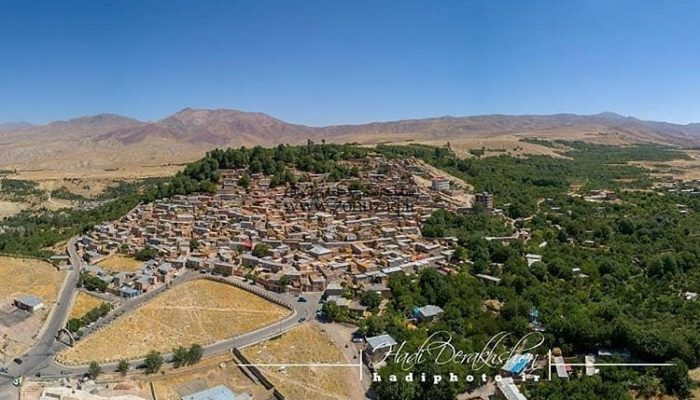 روستای زنوزق-عکس هوایی